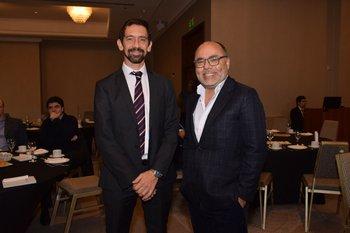 Juan Voelker y Andres Cerisola