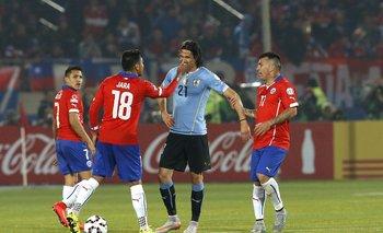 El 24 de junio de 2015, hace cuatro años, Uruguay cayó 1-0 ante Chile en Santiago, el día del dedo de Gonzalo Jara a Cavani