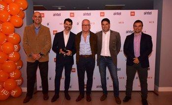 Javier López, Marcelo Abreu, Gustavo Delgado, Marcelo Esmoris y Fernándo Díaz