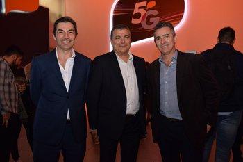 Andrés Ferrari, Pablo Moreira y Diego Valle Lisboa