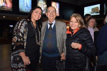 Adriana Tissoni, Enrique Gonzalez Lence y Ana Acebal