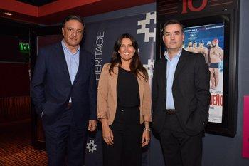 Diego Gandini, Carolina Bellenda y Pablo Muró