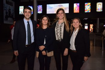 Federico Rovascio, María Vazquez, Analia Geymonat y Carolina Giorello