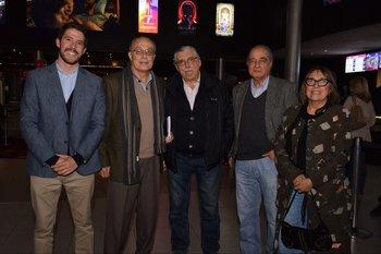 Rodolfo Roddini, Alberto Piñeyro, Miguel Fernández, José Luis Costa y Ana María Rodríguez