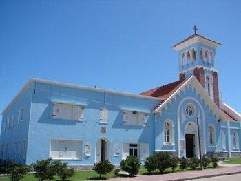 Parroquia de Nuestra Señora de la Candelaria en Punta del Este, donde se produjo la presunta aglomeración en la misa de Domingo de Ramos