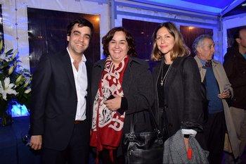 Federico Trapp, Eloisa Cerdeña y Barbara Mussi