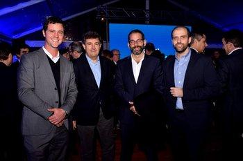 Gabriel Alonso, Ignacio Lacasta, Alexander Langauer y Franco Cinquegrana