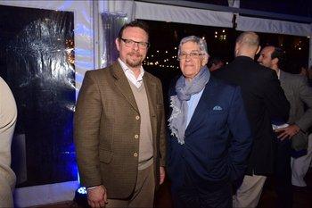 Nicolas Rey y Eduardo Lansa