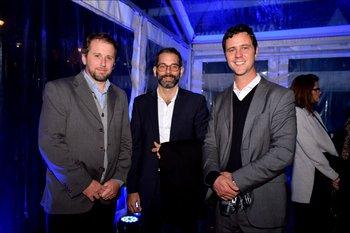 Aitor Galdona, Alexander Langauer y Gabriel Alonso