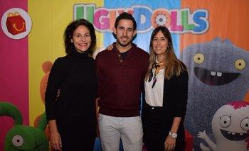 Paula Espasandin, Facundo Figueroa y Lucia Pazos