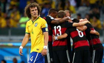 Una de las mayores humillaciones en la historia de Brasil, la derrota 7-1 ante Alemania en la Copa del Mundo de 2014 en Belo Horizonte