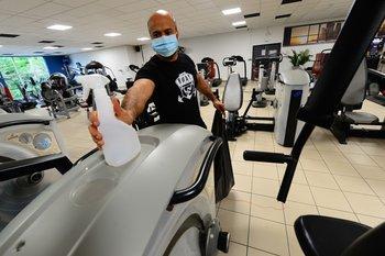 Los clubes y gimnasios que tienen aforo de 45% podrán extenderlo a 65%