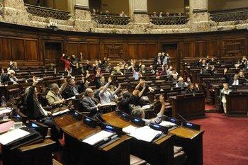 Votación en Diputados