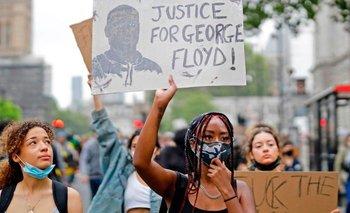 Protestas por la muerte de George Floyd se han dado en varias partes del mundo
