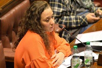 La diputada por el Frente Amplio, Verónica Mato