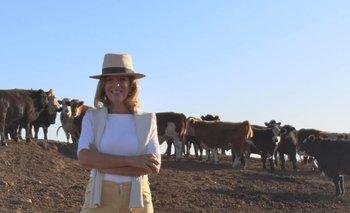 Patricia Damiani es una productora rural, ganadera y agrícola, de Soriano, Río Negro y Salto.