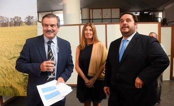Carlos María Uriarte, Fernanda Maldonado e Ignacio Buffa.