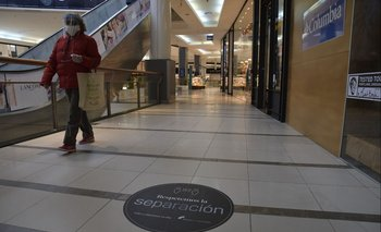 Shopping de Montevideo.