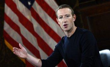 Mark Zuckerberg, fundador de Facebook, habla en una conferencia en la Universidad de Georgetown