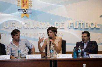 Valentina Prego, presidenta del fútbol femenino
