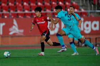Ronald Araújo jugó a gran nivel
