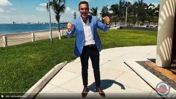 El uruguayo Gustavo Matosas en su presentación en Tiburón de Veracruz