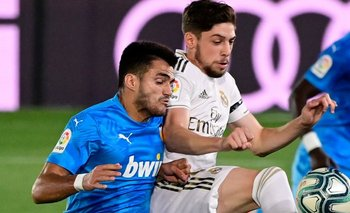 Gómez y Valverde en acción