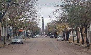 Calles vacías en Treinta y Tres luego de que se confirmaran los primeros casos