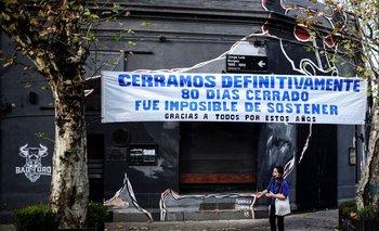 Cervecería cerrada en Argentina