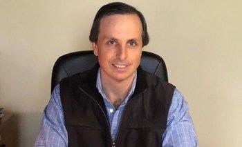Diego Oribe, presidente de la Sociedad de Criadores de Angus del Uruguay.