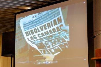El Parlamento homenajeó a los jóvenes de la Generación del ´83 con una placa conmemorativa en El Pasaje de la Democracia