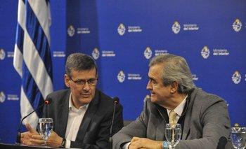 Archivo. Jorge Díaz y Jorge Larrañaga durante una conferencia de prensa
