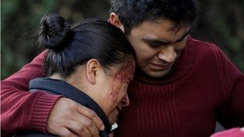 En el atentado murieron tres personas.