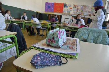 Reinicio de clases de primaria