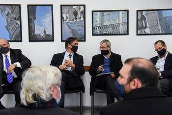 Reunión del Consejo Superior Tripartito.