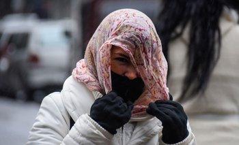 Las bajas temperaturas persistirán durante para el domingo, lunes y martes