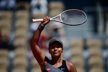 Naomi Osaka ase despidió de Roland Garros