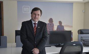 Claudio D´Agostini., gerente general de General Motors.