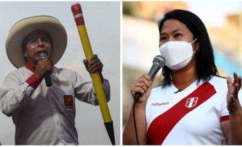 Pedro Castillo y Keiko Fujimori representan tendencias políticas radicalmente opuestas