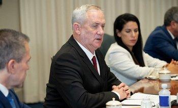 Ministro de Defensa israelí, Benny Gantz durante su visita en el Pentágono (EEUU)