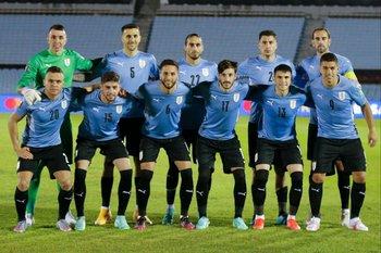 El equipo titular ante Paraguay