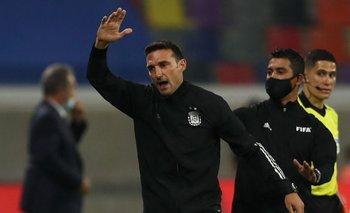 Scaloni, entrenador de Argentina