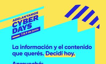 Cyber Days: aprovechá la promo de El Observador.