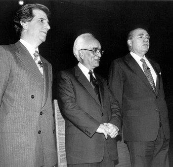 Debate presidencial entre Julio María Sanguinetti y Tabaré Vázquez, en 1994.