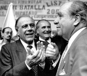 La fórmula integrada por Julio María Sanguinetti y Hugo Batalla fue muy potente en las elecciones de 1994