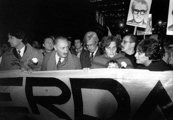 Marcha del Silencio, en 1996.