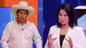 Castillo y Fujimori se enfrentarán este 6 de junio en la segunda vuelta de las elecciones presidenciales de Perú
