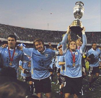 Uruguay campeón de la Copa América 2011 en Argentina