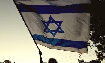 Manifestantes a favor del primer ministro israelí, Benjamin Netanyahu