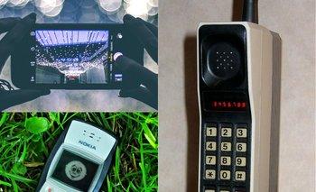 La evolución de los smartphones en tres fotos.